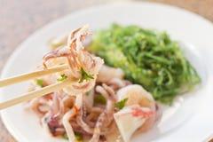 Seafood Seaweed Salad Royalty Free Stock Images