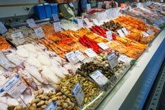 Seafood shop market stall