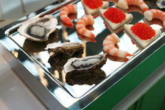 Seafood snack Royalty Free Stock Photos