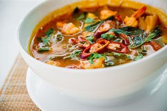 Free Seafood Soup Royalty Free Stock Photography - 65023837