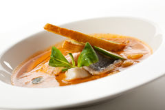 Seafood Soup Royalty Free Stock Image