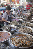Seafood stall Royalty Free Stock Photography