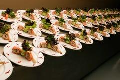 Seafood starter Royalty Free Stock Image