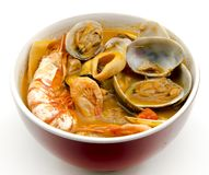 Seafood Stew Royalty Free Stock Images
