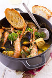 Seafood Stew Stock Photography