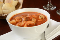 Seafood stew Royalty Free Stock Photo