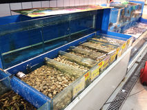 Seafood supermarket Stock Images