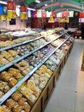Seafood supermarket Royalty Free Stock Photo