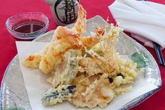 Seafood tempura Royalty Free Stock Photo
