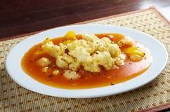Seafood tempura vegetable Stock Image