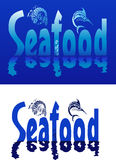Seafood text