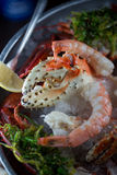 Seafood Tower Royalty Free Stock Image