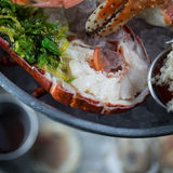 Seafood Tower Stock Photography