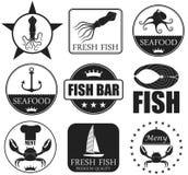 Seafood. Vector illustration (EPS 10 royalty free illustration