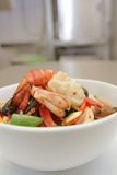 Seafood vegetable Royalty Free Stock Photography