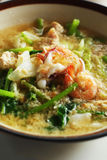Seafood vermicelli soup - Sukiyaki Royalty Free Stock Photos