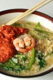 Seafood vermicelli soup - Sukiyaki Stock Photography