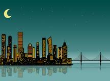 Seafort dos desenhos animados Imagens de Stock Royalty Free