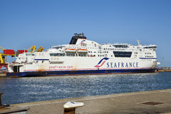 Seafrance Bankruptcy Royalty Free Stock Photo