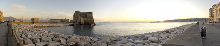 seafront Royaltyfri Fotografi