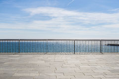 Seafront  in Barcelona Royalty Free Stock Photography