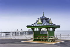 Seafront at Blackpool, England. Royalty Free Stock Image