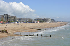 Seafront at Bognor Regis, England Royalty Free Stock Photography