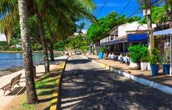 Seafront in Buzios, Rio de Janeiro Stock Photography