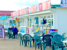 Seafront Cafe/shop, Great Yarmouth. Stock Images