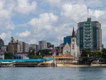 Seafront of Dar es Salaam, Tanzania Stock Photography
