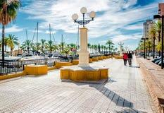 Seafront of Fuengirola Royalty Free Stock Photos
