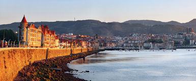 Seafront at Getxo Royalty Free Stock Image