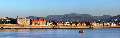 Seafront at Getxo Stock Image