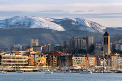 Seafront of Getxo Royalty Free Stock Photography