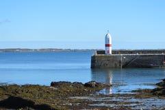 Port St Mary`s, isle of man stock photo