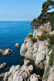 Seafront of Lloret de Mar Costa Brava Stock Photo