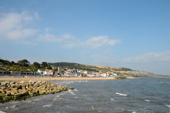 Seafront at Lyme Regis Stock Photography
