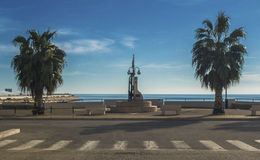 Seafront Manfredonia - A city of Gargano Stock Images