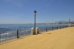 Seafront of Marbella Royalty Free Stock Images