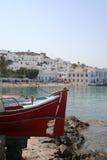 Seafront Mykonos. Royalty Free Stock Photos