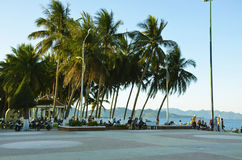 Seafront in Nha Trang, Vietnam Royalty Free Stock Photo
