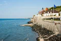 Seafront of Normandy, France Stock Photography