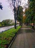 Avenue in odesssa. Seafront of Odessa Stock Photo