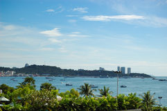 Seafront of the Pattaya City Stock Photography