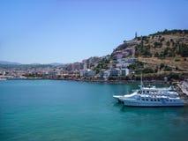 Seafront photo of Kusadasi, famous tourist destination in Turkey. Seafront photo of Kusadasi, famous tourist destination in Turkey Stock Photos