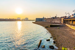 Seafront of portsmouth Stock Photos
