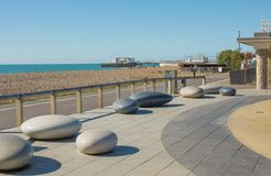 Worthing Seafront, West Sussex, England Stock Photo