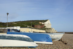 Seafront at Seaford, East Sussex, England Royalty Free Stock Image