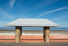 Seafront shelter Stock Photography