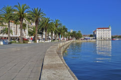 Seafront in Split. From Croatia Royalty Free Stock Photos